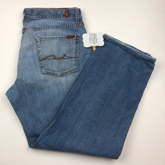 7 For All Mankind Other - 36x29 7 for all mankind relaxed jean